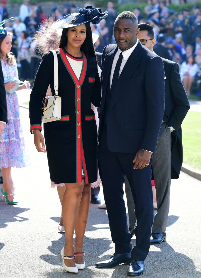 TO SUPPORT: Idris Elba has a wonderful environment, and Prince Harry is a good friend among others. Here, the Sabrina and the Prince's wedding were photographed in 2018. Photo: NTB scanpix