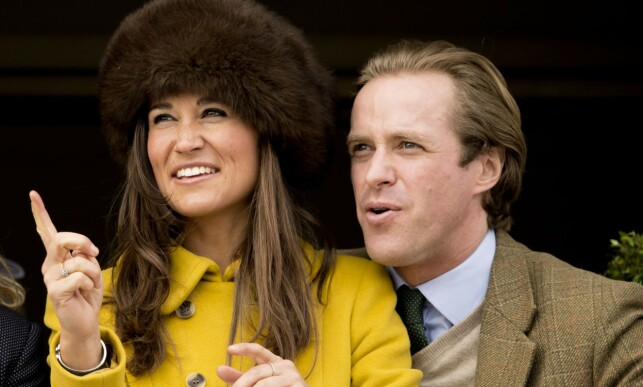 EXERCISE: Pippa Middleton and Thomas Kingston date each other in 2011, but that should not last. Today they are good friends. Here they are photographed in 2013, during the Cheltenham Festival. Photo: NTB scanpix