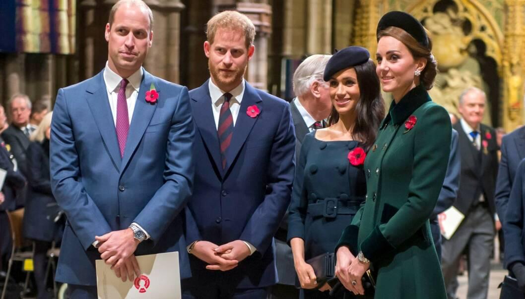 BALUBA: Det hevdes at det er dårlig stemning mellom de to hertugparene i Storbritannia. Det er det flere grunner til. Foto: NTB scanpix