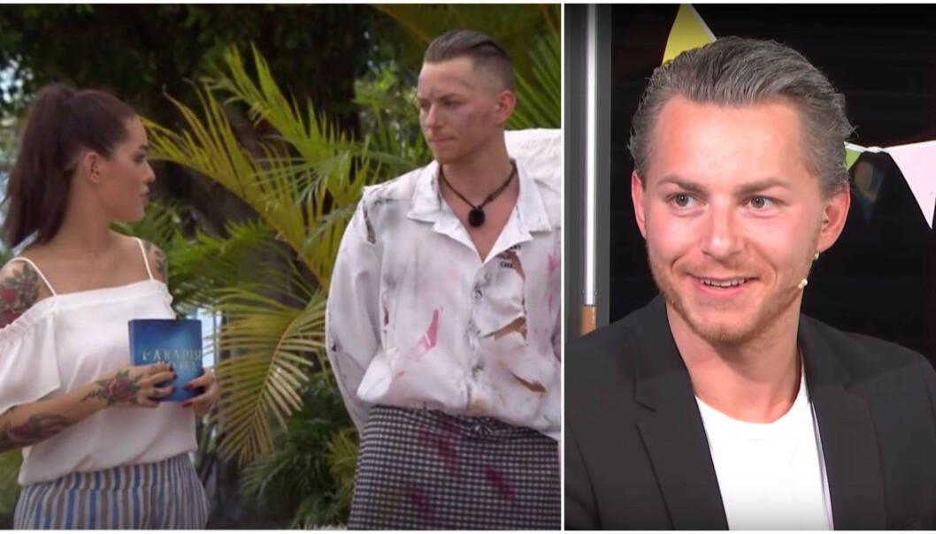 <strong>BLE PAPPA:</strong> «Paradise Hotel»-profilen Kristian Renè Johansen er blitt pappa for første gang. Foto: TV 3 / Se og Hør
