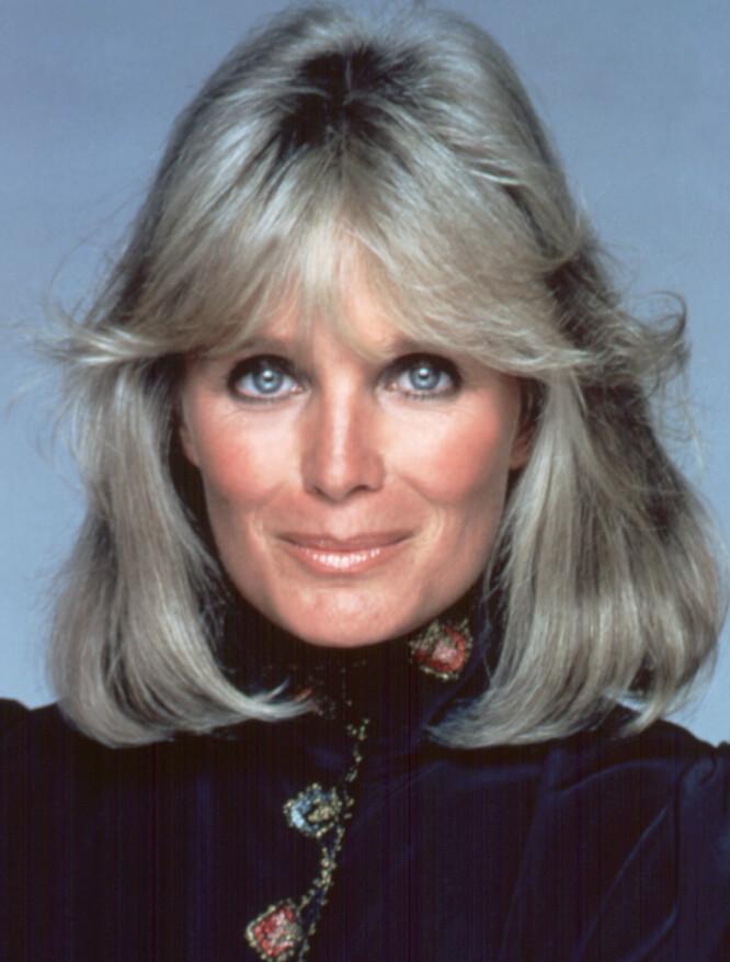 SVIKTET: Linda Evans som senere ble kjent som Krystle Carrington i «Dynastiet». Hennes mann John Derek forlot henne til fordel for 16 år gamle Mary, som senere tok navnet Bo Derek. FOTO: :NTBScanpix