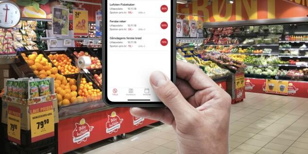 Norsk app viser deg billigvarene