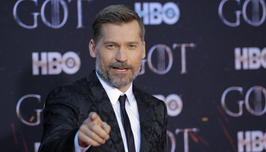 TV-STJERNE: Danske Nikolaj Coster-Waldau spiller rollen som Jamie Lannister i den verdenskjente tv-serien «Game of Thrones». Foto: NTB Scanpix