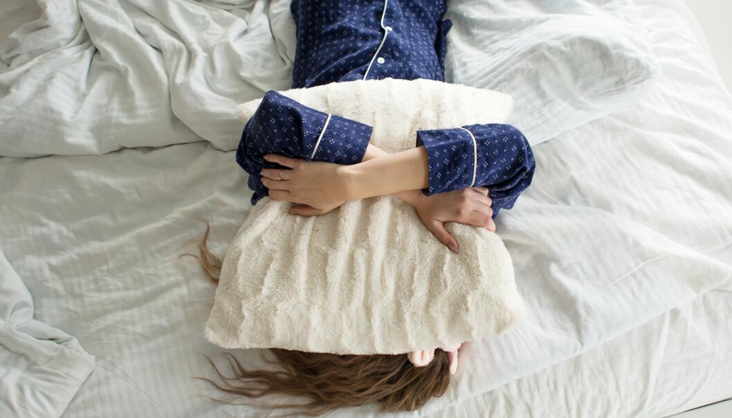 SØVNPROBLEMER: Rundt 750 000 nordmenn sliter med søvnen. FOTO: NTB Scanpix