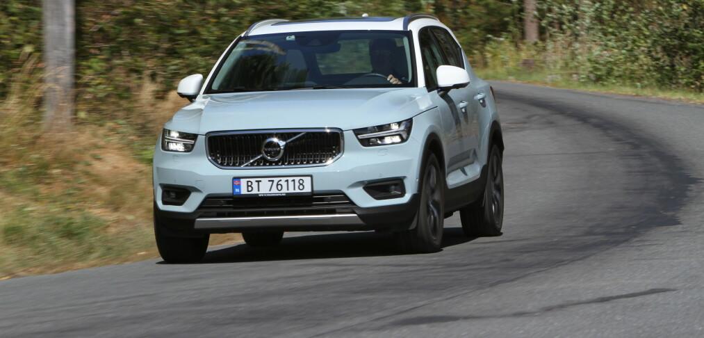 Baner vei for ny Volvo
