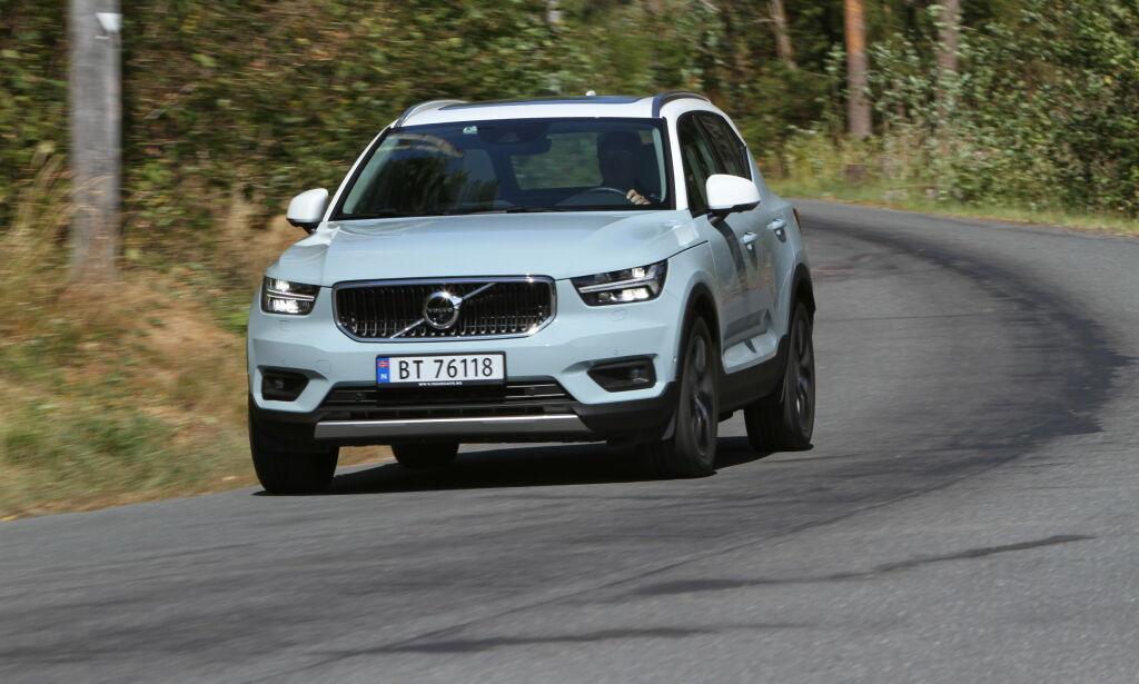 image: Baner vei for ny Volvo-modell