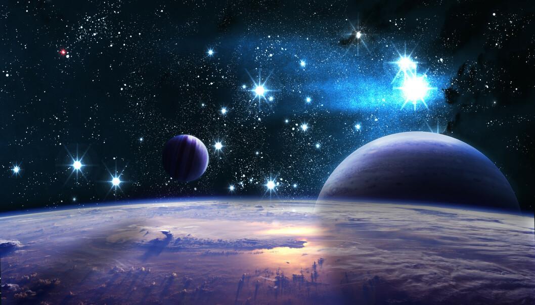 HVA KAN DU OM VERDENSROMMET?: Universet er gigantisk, men noe har vi lært. Foto: Vadim Sadovski / Shutterstock / NTB scanpix.
