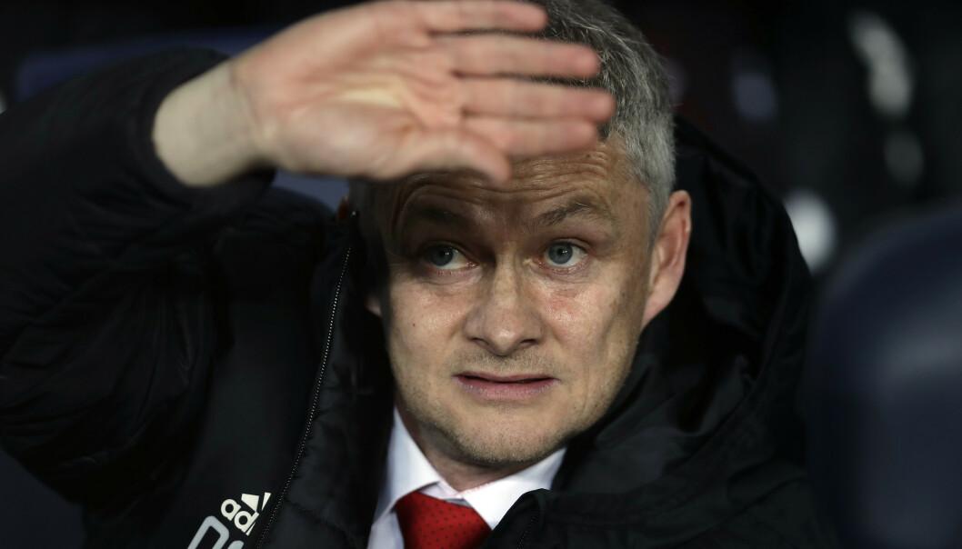 Det er ikke sikkert Manchester United-manager Ole Gunnar Solskjær får plass i mesterligaen selv med en 4.-plass i serien. Foto: Manu Fernandez / AP / NTB scanpix