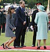 ROYAL LABEL: Though Duchess Kate often represents the British royal family on official missions, she must - or nod - be a queen. Photo: NTB Scanpix