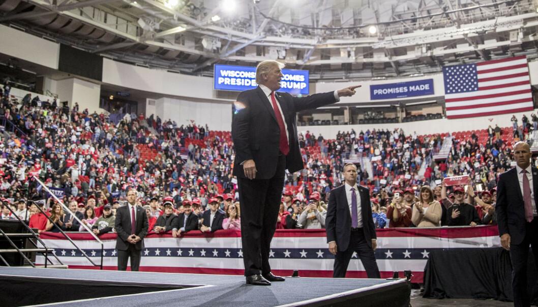 Washington Post: Trump har snakket usant over 10.000 ganger på 800 dager