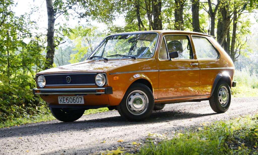 REVOLUSJON Volkswagen revolusjonerte bil- industrien da de lanserte Golfen. Å sette seg inn og kjøre denne kan sammenlignes med å få seg Iphone idag. Enkel og brukervennlig. Foto: Stein Inge Stølen