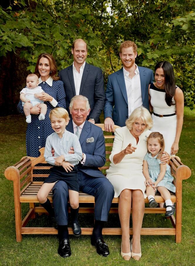 NOK ET TILSKUDD: Snart kan den britiske kongefamilien ønske nok et barn velkommen. Foto: Scanpix