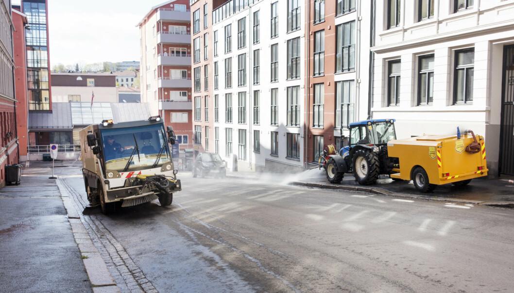 I Oslo er det ventet temperaturer ned mot fem grader. (Foto: Gorm Kallestad / NTB scanpix).