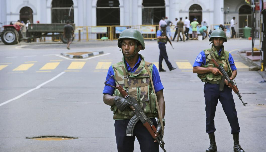 Sri Lankas etterretning har advart mot nye terroraksjoner i landet, opplyser regjeringen. (Foto: AP / NTB scanpix).