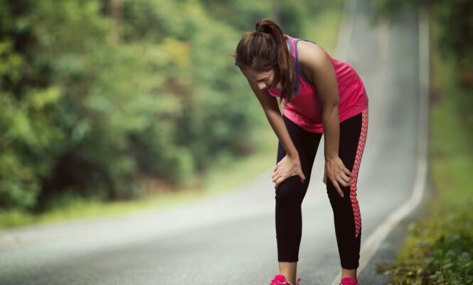 <strong>SLITEN:</strong> Blir du fort sliten av fysisk aktivitet? Ny studie viser at dårlig kondis øker risikoen for fettlever. FOTO: NTB Scanpix