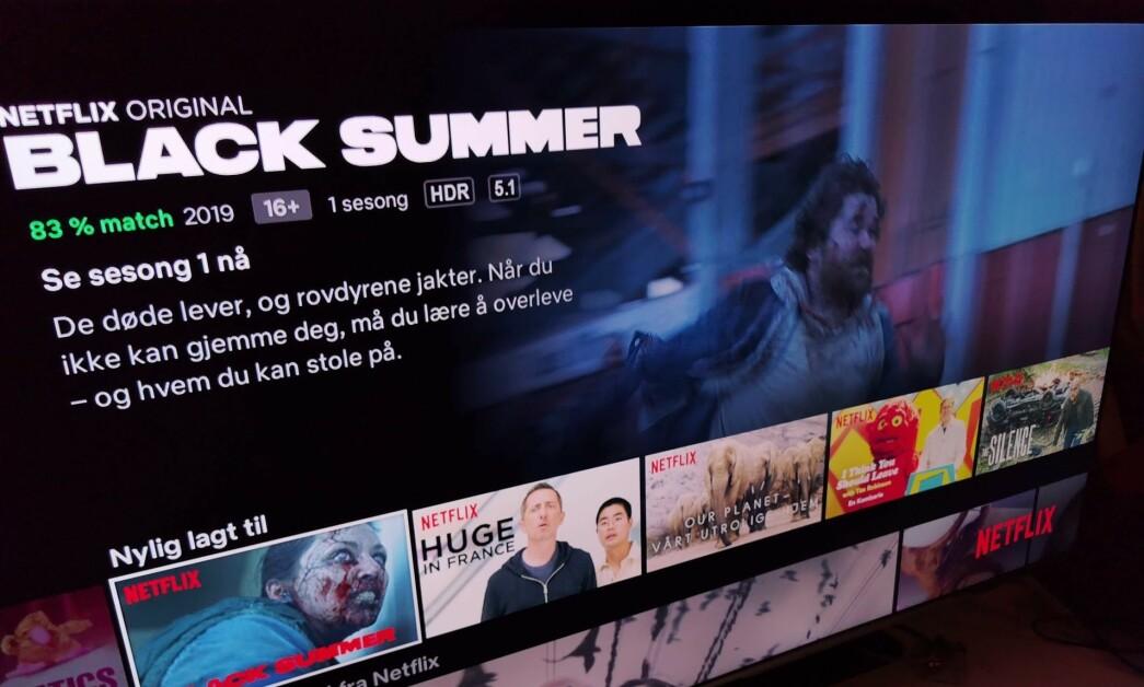 <strong>BEDRE LYD:</strong> Nå skrur Netflix opp bitraten på lyden for å servere deg lyd de selv mener er praktisk talt umulig å skille fra original-masteren. Foto: Pål Joakim Pollen