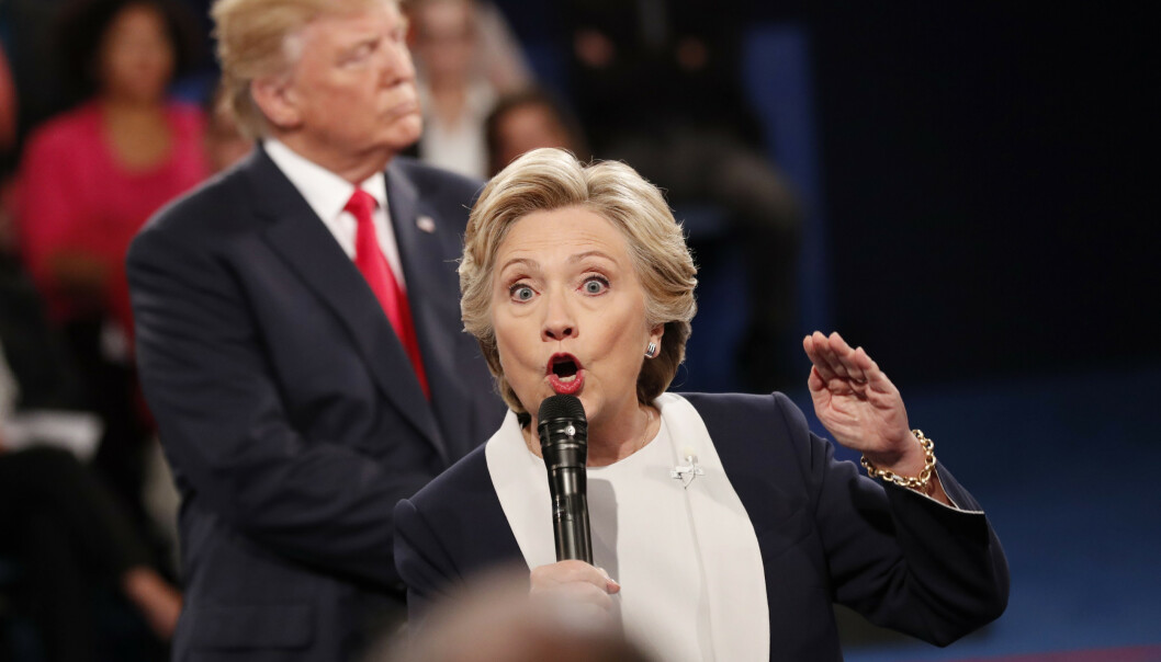 <strong>I STRUPEN PÅ TRUMP:</strong> USAs president Donald Trump og tidligere presidentkandidat Hillary Clinton kan ikke sies å være spesielt gode venner. Nå går sistnevnte i strupen på Trump og republikanerne. Foto: Rick Wilking / Reuters / NTB Scanpix