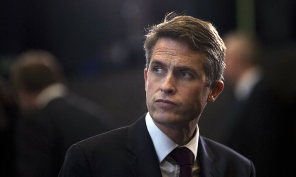 Gavin Williamson fikk onsdag sparken som forsvarsminister i Storbritannia. Foto: Francisco Seco / AP / NTB scanpix