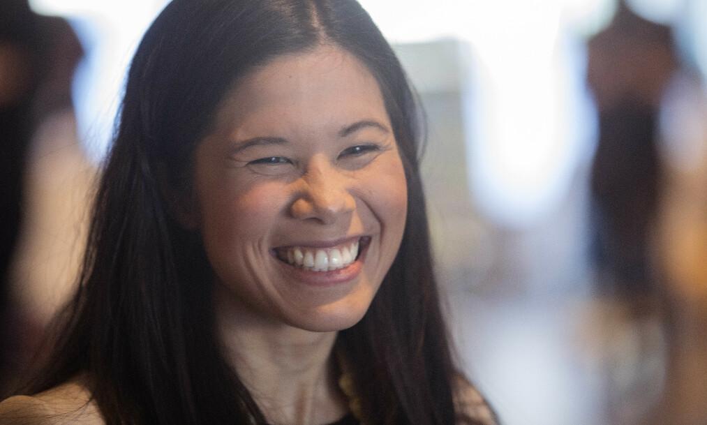 <strong>BABYLYKKE:</strong> MDG-politiker Lan Marie Berg har blitt mamma til en liten jente. Foto: NTB Scanpix
