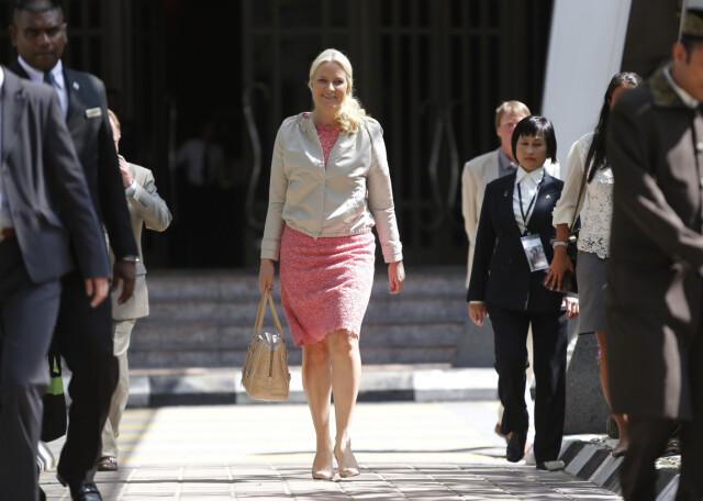 389dee44 FRYKTELIG GALT: Kronprinsesse Mette-Marit har selv uttalt at hun synes  fokuset på