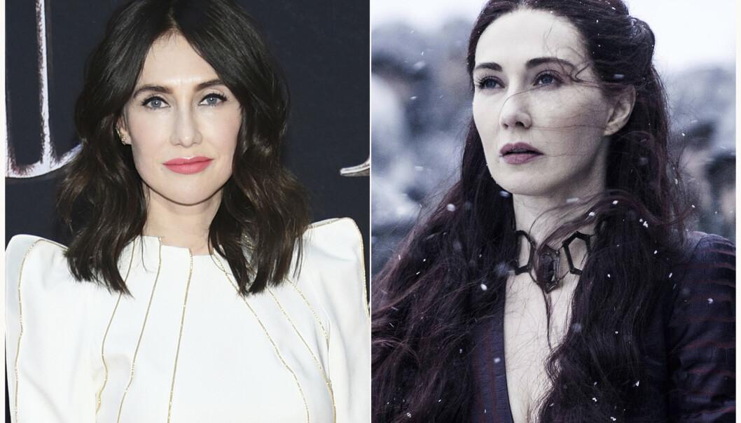 THE RED WOMAN: Det er den nederlandske skuespilleren Carice van Houten som har gestaltet rollen som Melisandre, også kjent som The Red Woman og The Red Priestess, i den uhyre populære HBO-serien Game of Thrones. FOTO: NTB Scanpix