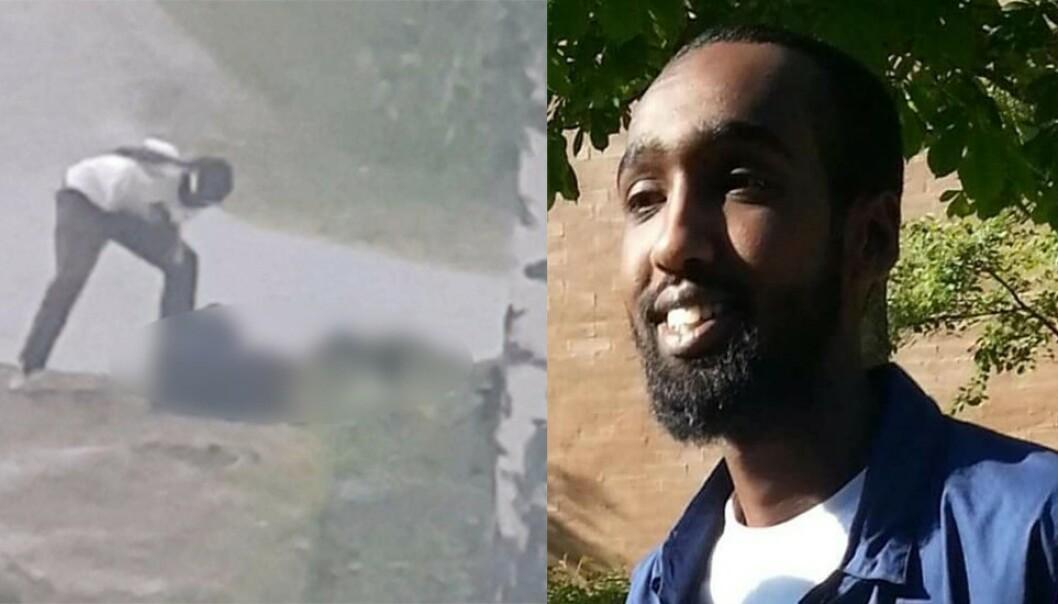 <strong>DØMT:</strong> Den returnerte IS-krigeren Mubashir Qadar ble torsdag dømt for brutalt drap på en mann under et gjengopprør. Foto: Politiet