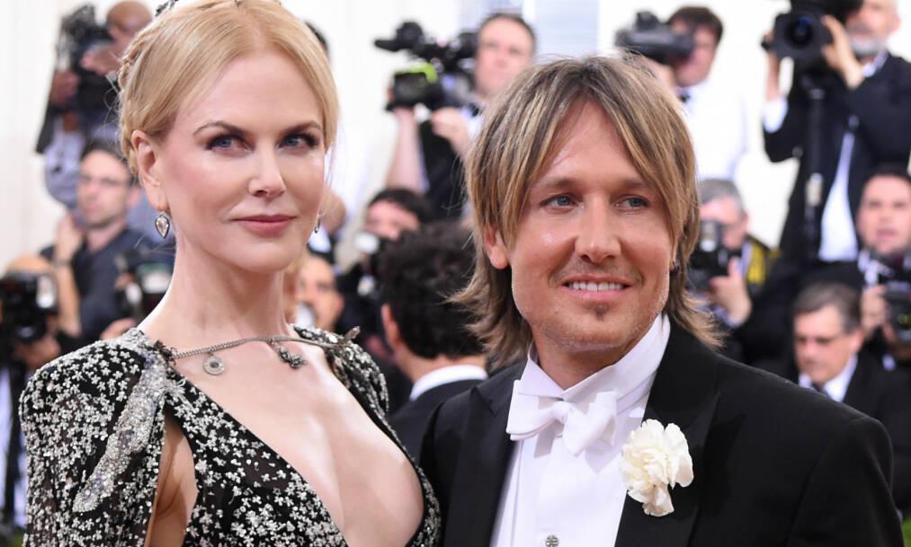 «UPOPULÆR» MOR: Nicole Kidman letter på sløret om morsrollen, og innrømmer at hun har tatt noen valg som ikke har vært særlig populære hos barna hennes. Her sammen med ektemannen Keith Urban på MET-gallaen i 2016. Foto: NTB Scanpix