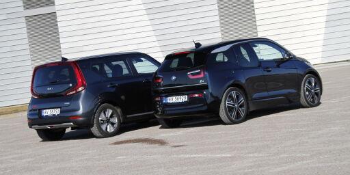 image: Kia e-Soul utfordrer BMW i3