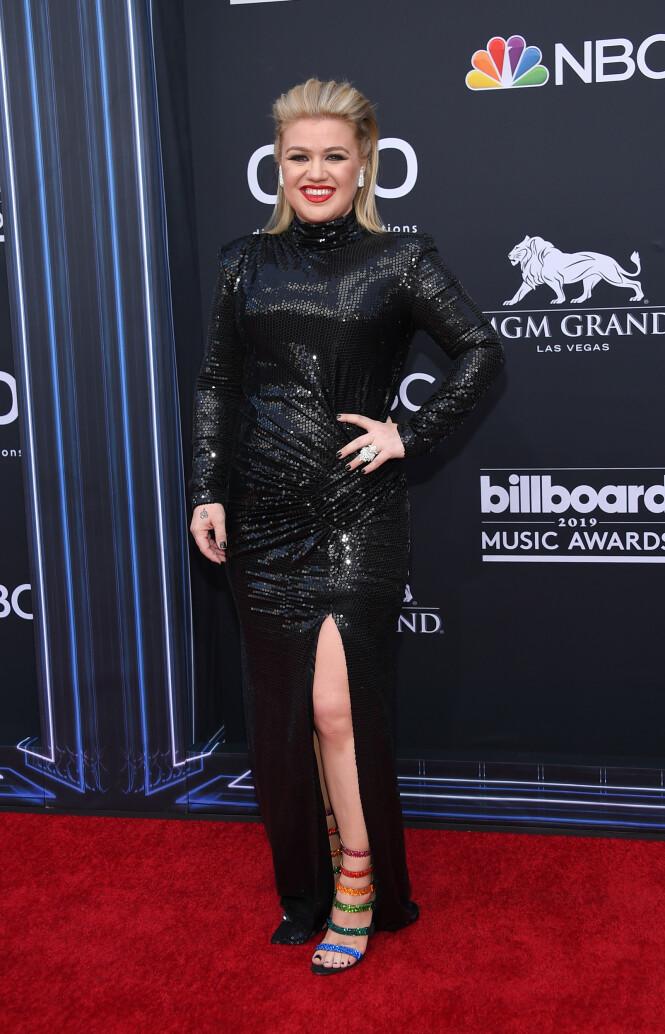 BILLBOARD MUSIC AWARDS: Kelly Clarkson. Foto: Scanpix