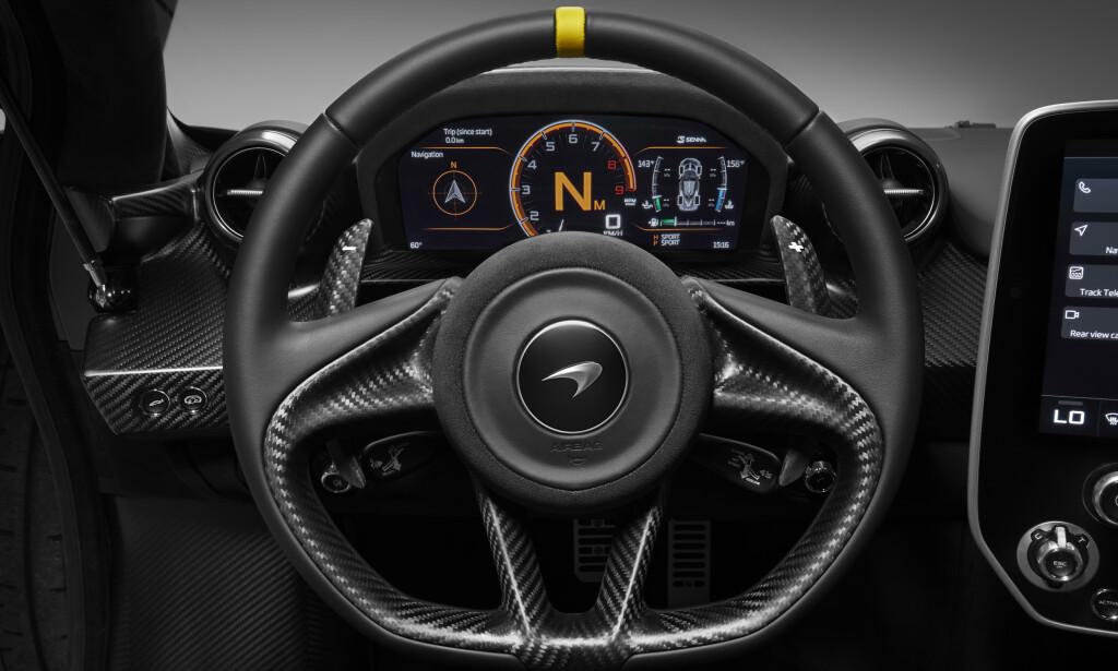 EKSTREM: Senna er McLarens mest ekstreme gatebil noen gang. Foto: McLaren
