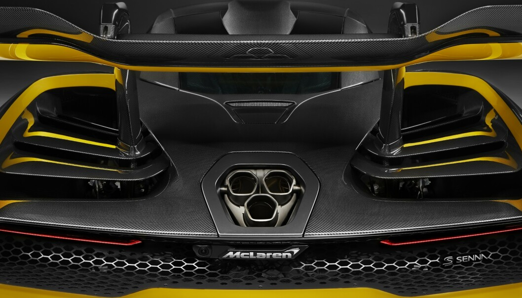 <strong>DYRT UTSTYR:</strong> Det dyreste ekstrautstyret til McLaren Senna er et karbon-sett til 350.000 euro. Foto: McLaren