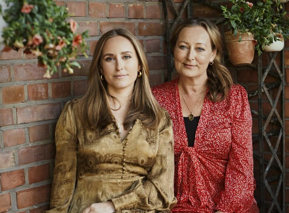 BYTIMO: Mor og datter, Tine (t.v.) og Elisa Mollatt (t.h.), driver et av Norges mest populære merker sammen. Foto: Ole Martin Halvorsen