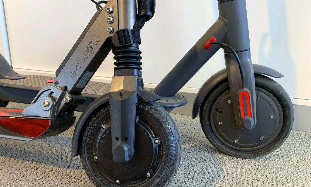 image: Duell: Billig mot dyr el-sparkesykkel