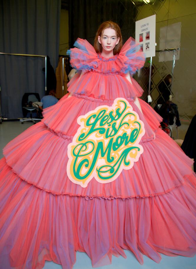 FOR MYE AV DET GODE: Styr unna kjoler som stjeler all oppmerksomhet. Foto: Scanpix