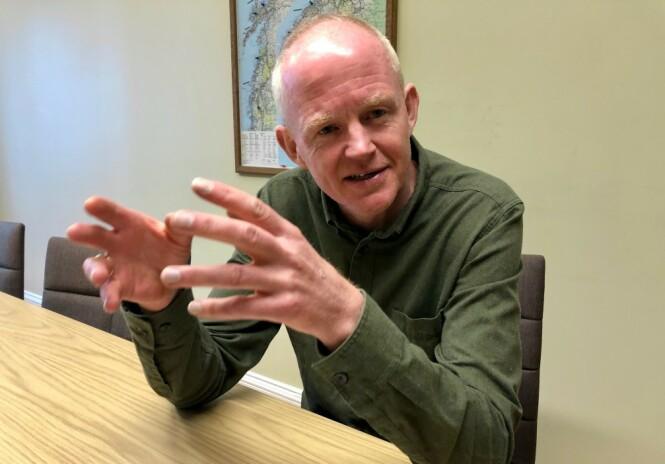 OPPFORDRER: Lars Haltbrekken, SVs klimapolitiske talsperson, oppfordrer Høyre til å støtte SVs klimakuttforslag. Foto: Gunnar Ringheim / Dagbladet