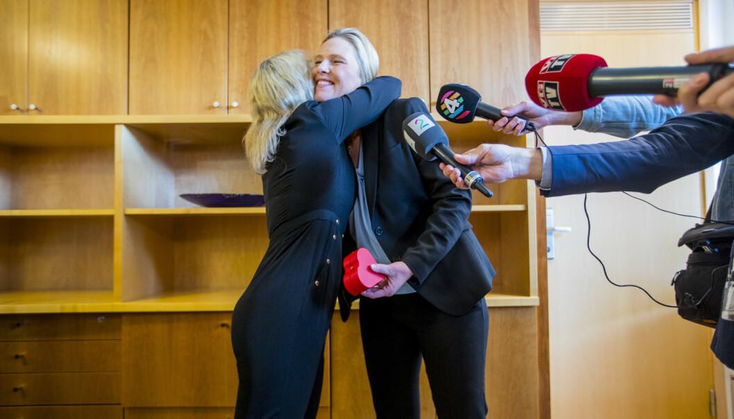 Sylvi Listhaug overtar ministerposten etter partifelle Åse Michaelsen. (Foto: Stian Lysberg Solum / NTB scanpix).