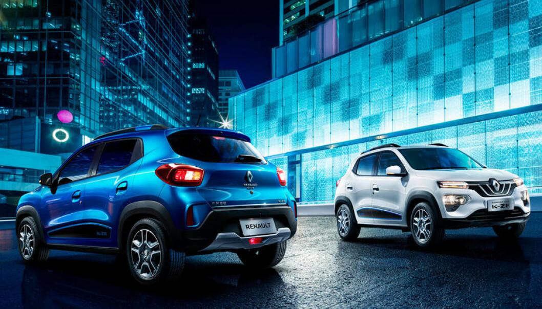 BILLIG BYBIL: Kan nye Renault City KZ-E bli den nye byfavoritten? Foto: Renault