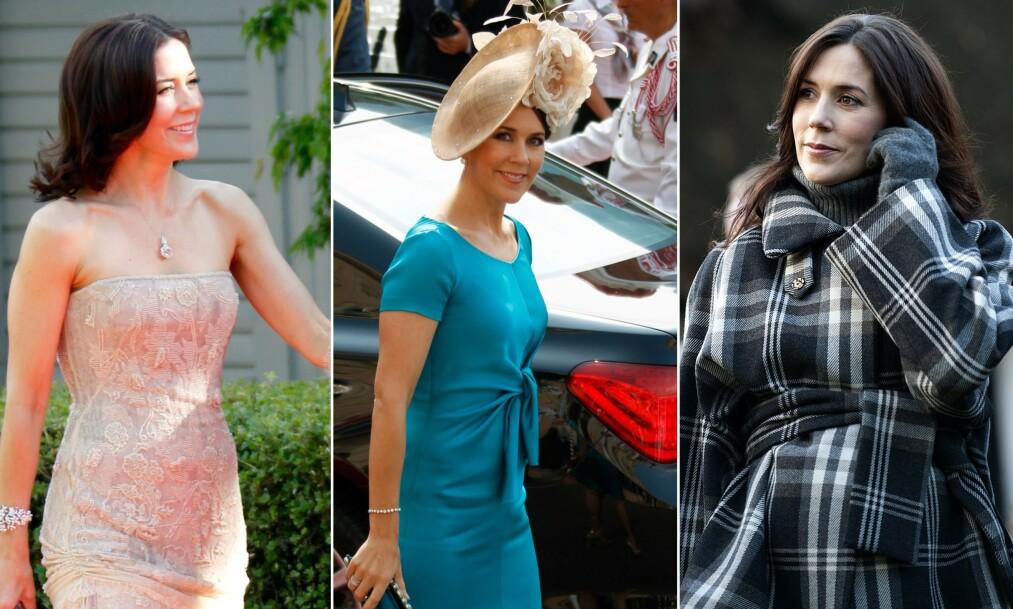 <strong>LUKSUSDYR:</strong> Etter hertuginne Meghan var kronprinsesse Mary den med dyrest garderobe i 2018. Søsteren til dronning Margrethe kom forrige uke med kritikk til kongelige luksusvaner, spesielt rettet mot klær. Enkelte tolket det som et stikk mot kronprinsesse Mary. Nå kommer hun med et slags svar. Foto: NTB scanpix