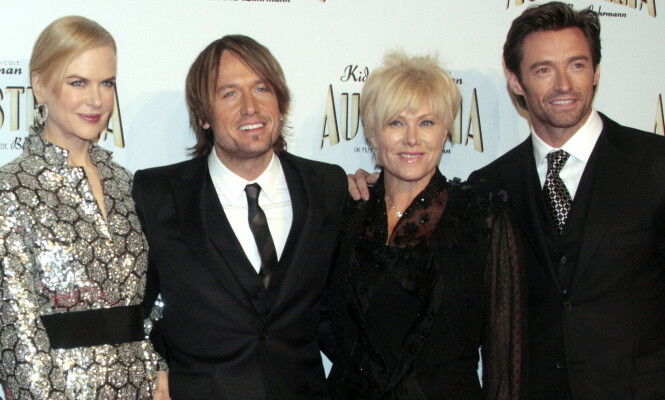 NÆRE VENNER: Nicole Kidman og hennes nåværende ektemann, Keith Urban, er gode venner med Hugh Jackman og kona Deborra-Lee Furness. Foto: NTB Scanpix