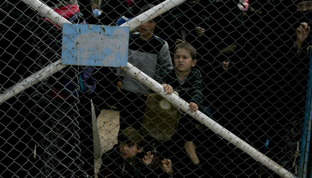 Vil DNA-teste Syria-barna. Foto: AP Photo/Maya Alleruzzo