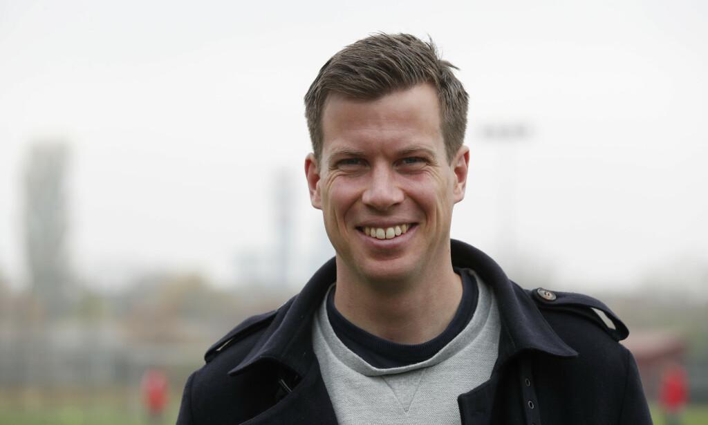 BLE PAPPA: Fotballekspert Jesper Mathisen. Foto: NTB Scanpix