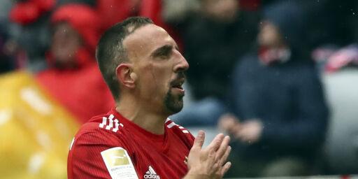 image: Ribéry forlater Bayern München