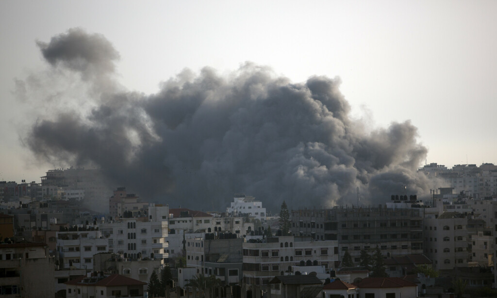 Frykten øker for ny krig på Gazastripen. Foto: AP Photo/Khalil Hamra / NTB scanpix