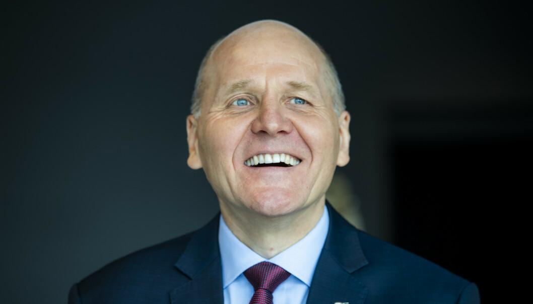 Telenors konsernsjef Sigve Brekke. Foto: Håkon Mosvold Larsen / NTB scanpix