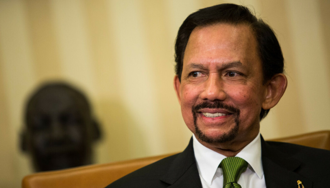 SNUR: Sultan Hassanal Bolkiah snur etter massiv kritikk. Foto: Rex Shutterstock / NTB Scanpix