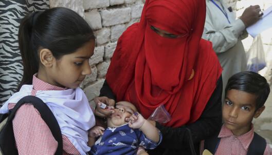 Fem vaksinasjonsarbeidere drept på få dager i Pakistan