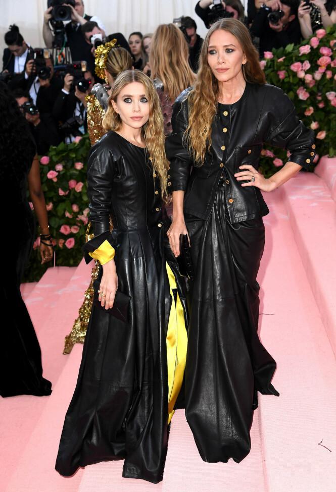 Mary Kate og Ashley Olsen. Foto: Scanpix