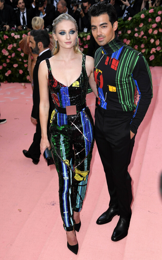 Sophie Turner og Joe Jonas. Foto: Scanpix
