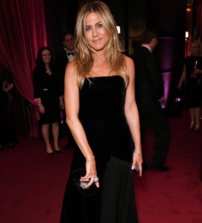 <strong>POPULÆR:</strong> Jennifer Aniston fylte 50 år i februar, men er fortsatt like ettertraktet. Foto: NTB Scanpix