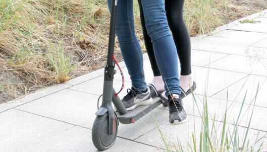 Regel-blemme for elektriske sparkesykler